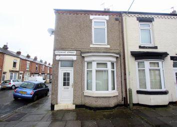 Thumbnail 2 bed end terrace house for sale in Stewart Street, Darlington