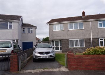 Thumbnail 3 bedroom semi-detached house for sale in Llwynderw, Gorseinon, Swansea