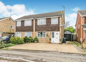 Thumbnail 3 bed semi-detached house for sale in Webb Road, Raunds, Wellingborough