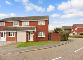 Thumbnail 3 bed semi-detached house for sale in Rye Close, Hornchurch, Essex