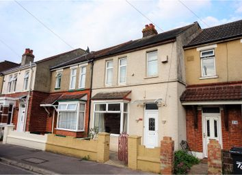Thumbnail 3 bed terraced house for sale in St. Andrews Road, Gosport