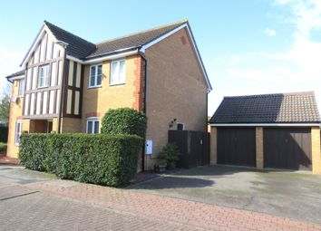 Thumbnail 4 bedroom detached house for sale in Stagshaw Grove, Emerson Valley, Milton Keynes