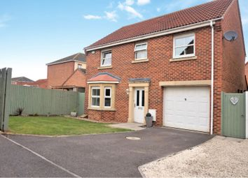 Thumbnail 4 bed detached house for sale in Stockham Court, Scartho Top, Scartho