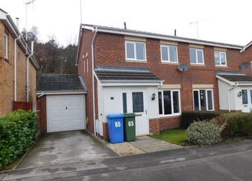 Thumbnail 3 bed semi-detached house to rent in Millrise Road, Mansfield
