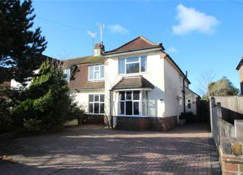 Thumbnail 4 bed semi-detached house for sale in Shirley Drive, Offington, Worthing, West Sussex