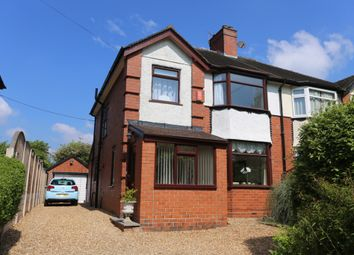 Thumbnail 3 bedroom semi-detached house for sale in Trentham Road, Blurton