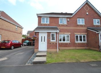 Thumbnail 3 bed semi-detached house for sale in Crossbrook Way, Milnrow, Rochdale, Greater Manchester