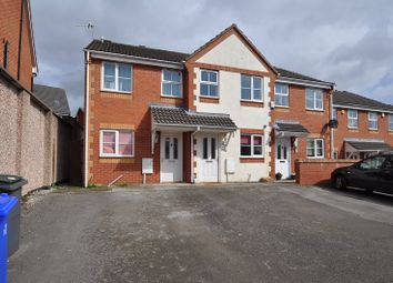 Thumbnail 2 bedroom town house to rent in Blandford Close, Longton, Stoke-On-Trent