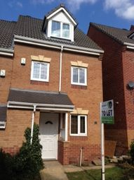 Thumbnail 3 bed town house to rent in Hills Close, Mexborough