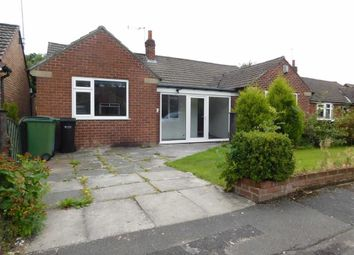 Thumbnail 3 bed detached bungalow to rent in Woodside Drive, High Lane, Stockport
