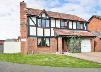 Thumbnail 4 bed detached house for sale in Daylesford Road, Cramlington