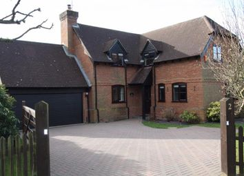 Thumbnail 4 bed detached house for sale in Oakdene, Burghfield Common