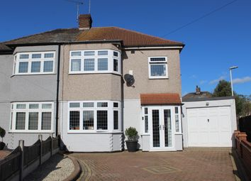 Thumbnail 3 bed semi-detached house for sale in Anstead Drive, Rainham, Essex