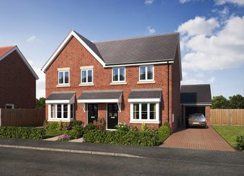 Thumbnail 3 bedroom semi-detached house for sale in Gateway Avenue, Newcastle Under Lyme, Staffordshire