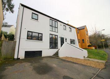 Thumbnail 4 bedroom detached house for sale in Duffryn Oaks Drive, Pencoed, Bridgend.