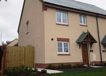 Thumbnail 3 bedroom semi-detached house for sale in Plot 1, Seaward Park, Clyst St George, Devon