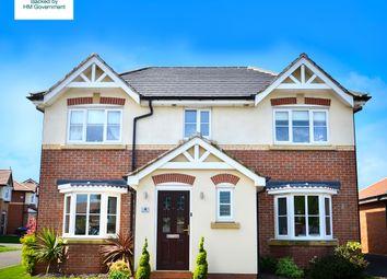 Thumbnail 3 bedroom detached house for sale in Moorfield Park, Poulton-Le-Fylde, Lancashire