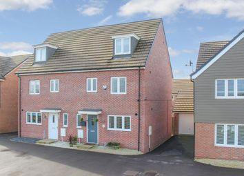 Thumbnail 4 bed semi-detached house for sale in King Eider Gardens, Leighton Buzzard