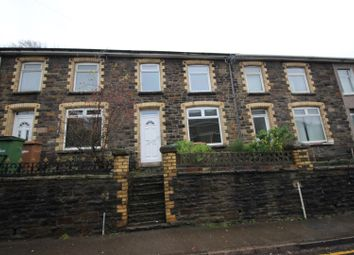 Thumbnail 3 bed terraced house for sale in Newport Road, Cwmcarn, Newport