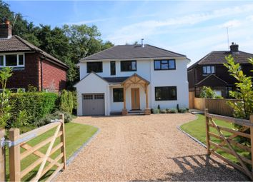 Thumbnail 4 bed detached house for sale in Guildford Road, Pirbright, Woking