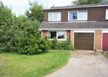 Thumbnail 4 bed semi-detached house for sale in Lightsfield, Oakley, Basingstoke
