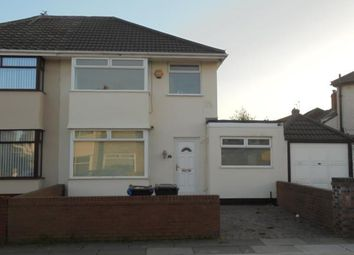 Thumbnail 3 bed semi-detached house for sale in 4 Merton Crescent, Huyton, Liverpool