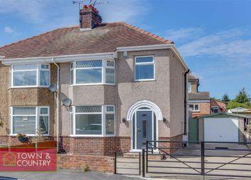 Thumbnail 3 bed semi-detached house for sale in Caernarvon Close, Shotton, Deeside, Flintshire