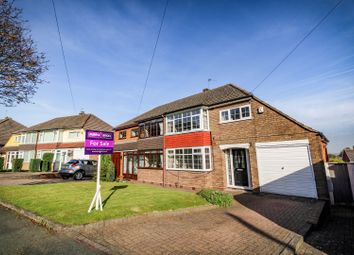 Thumbnail 3 bed semi-detached house for sale in Farrington Road, Ettingshall Park, Wolverhampton