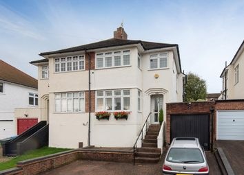 Thumbnail 3 bed semi-detached house for sale in Brownspring Drive, London