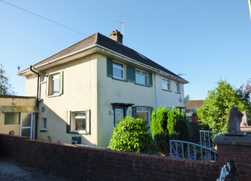 Thumbnail 3 bed semi-detached house for sale in Heol Bryncwils, Sarn, Bridgend