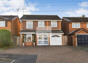 Thumbnail 4 bed detached house for sale in Ames Close, Luton