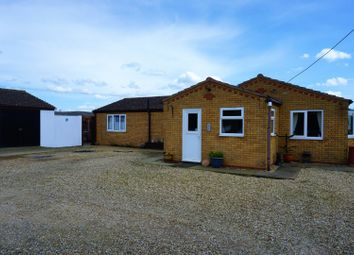 Thumbnail 3 bed detached bungalow for sale in Mill Lane, Wisbech