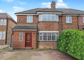 Thumbnail 4 bed semi-detached house to rent in Howberry Road, Canons Park, Edgware