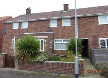 Thumbnail 3 bed terraced house to rent in Humberstone Road, Gorleston, Great Yarmouth