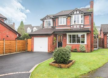 Thumbnail 4 bed detached house for sale in Underwood Close, Macclesfield