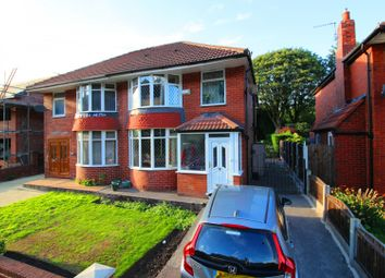Thumbnail 4 bed semi-detached house for sale in Victoria Avenue East, Manchester, Lancashire