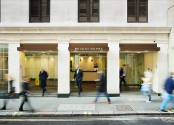Thumbnail Serviced office to let in Becket House, London