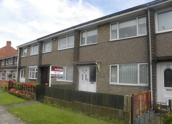 Thumbnail 3 bed terraced house to rent in Main Street South, Seghill, Cramlington