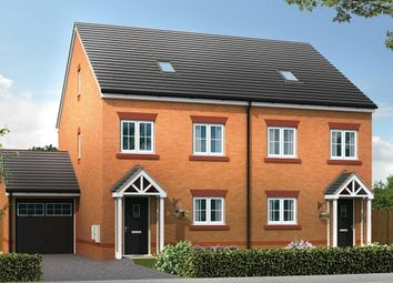 Thumbnail 4 bed semi-detached house for sale in Chester Lane, Saighton, Chester