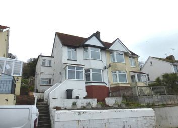 Thumbnail 2 bed flat to rent in Langdon Road, Preston, Paignton