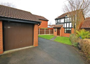 Thumbnail 3 bed detached house for sale in Malvern Close, Great Sankey, Warrington