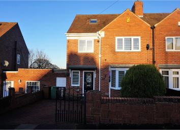 Thumbnail 3 bed semi-detached house for sale in Dene View Crescent, Sunderland