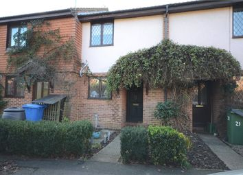 Thumbnail 2 bed terraced house for sale in Sandown Crescent, Aldershot, Hampshire