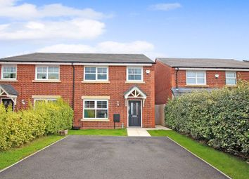 Thumbnail 4 bed semi-detached house for sale in Common Alder Way, Blackley, Manchester