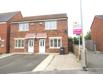 Thumbnail 3 bed semi-detached house for sale in Ripon Close, Hartlepool