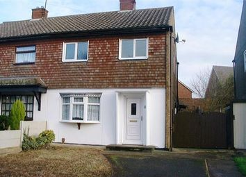 Thumbnail 2 bedroom semi-detached house to rent in The Oval, Russells Hall Estate, Dudley