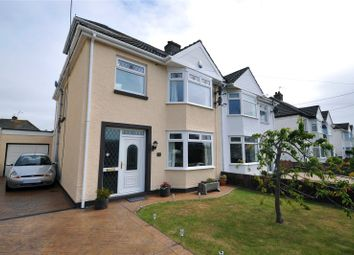 Thumbnail 4 bedroom semi-detached house for sale in Newton Nottage Road, Porthcawl