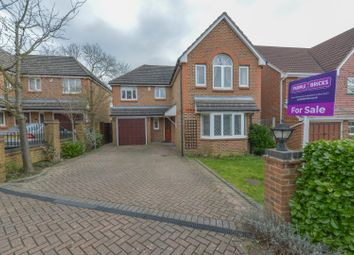 Thumbnail 4 bed detached house for sale in Everett Close, West Cheshunt