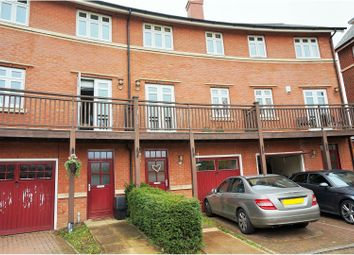 Thumbnail 4 bed town house for sale in Wyatt Crescent, Lower Earley, Reading