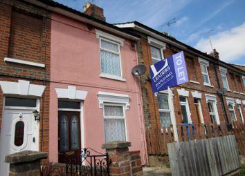 Thumbnail 2 bedroom terraced house to rent in Hervey Street, Ipswich